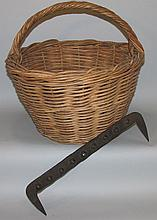 Basket maker rod & oak rod basket
