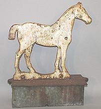 Horse windmill weight