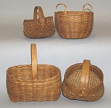 4 contemporary baskets