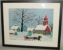 Mary Hickman watercolor