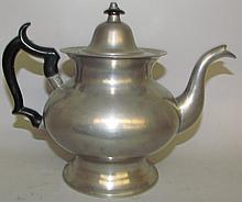 Boardman & Hart pewter teapot
