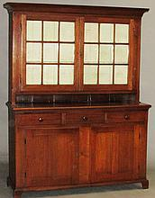 Pennsylvania walnut Dutch cupboard