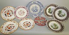 9 miscellaneous English plates