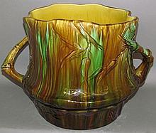 Art pottery jardinière