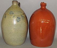 2 reproduction North Carolina jugs