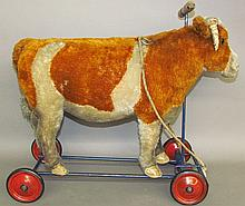 Steiff ride-on toy cow