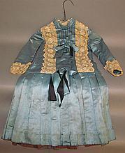 Child's silk dress