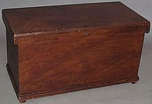 Pine dovetailed blanket chest