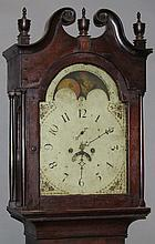 8 day tall case clock