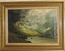 Alfred Fontille de Breanski painting