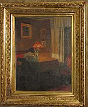 Jensen interior scene