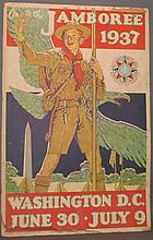 Norman Rockwell Boy Scout Jamboree poster