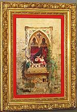 H. Corrodi Roma painting