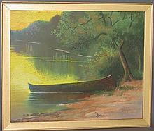 Carlson pastel painting