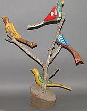 Daniel & Barbara Strawser bird tree