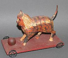 Walter Gottshall cat pull toy