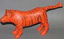 Strawser tiger carving