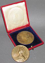 2 British Coronation medals