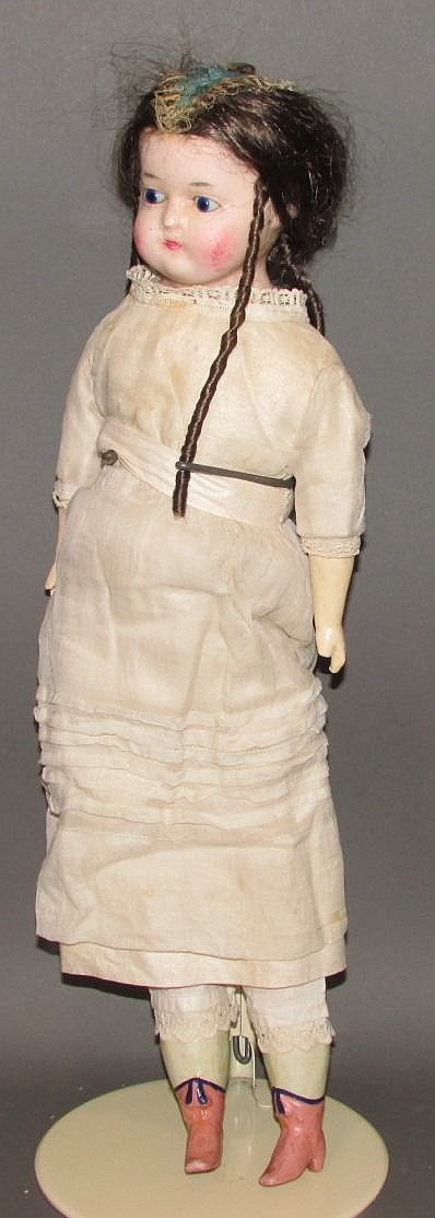 Civil War era composition doll