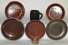 Pottery grouping
