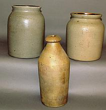 3 pcs. Cowden & Wilcox stoneware