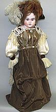 Large German bisque head doll