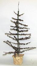 Vintage feather tree