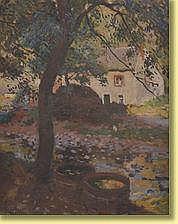 José Wolff (1884-1964) École belge Huile sur