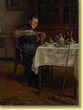 Prosper de Wit (1860-1947) École belge Huile sur