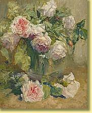 Alexandre Tielens (1868-1959) École belge Huile