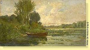 Hippolyte Boulenger (1837-1874) Ecole belge Huile