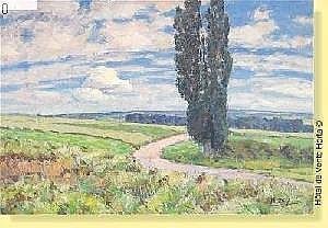 Henri Deglume (1865-1940) Ecole belge Huile sur