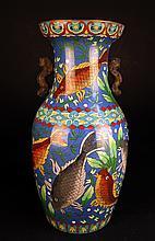 Large Cloisonne Vase