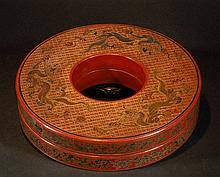 Antique Chinese Lacquer Box - Qianlong
