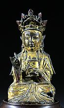 Ming Dynasty Goldl Gilt Bronze Buddha
