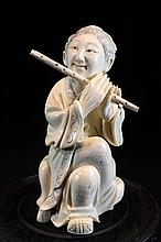 Carved Ivory Statue