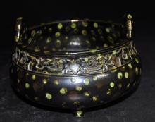 Porcelain Censer Imitating Bronze