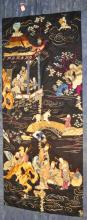 Chinese Embroidered Silk Tapestry