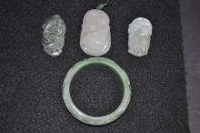 Four Chinese Jade Articles