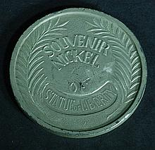 Souvenir Nickel - Statue of Liberty