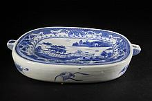 Chinese Blue & White Food Warmer