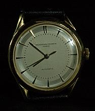 Vintage Vacheron & Constantin 18k Gold Watch