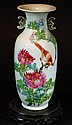 Chinese Famille Rose Vase - Birds and Flowers