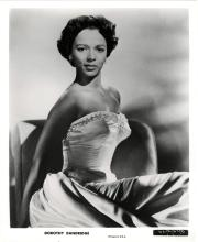 A GROUP OF DOROTHY DANDRIDGE BLACK AND WHITE PHOTOGRAPHS AND A COLOR LOBBY CARD