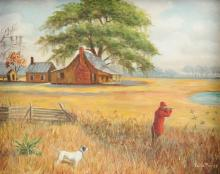 VAILLE PIERCE (American 20th Century) A PAINTING,