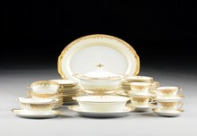 A PARTIAL SERVICE OF NORITAKE CHINA IN THE