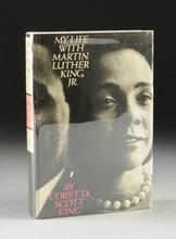CORETTA SCOTT KING (1927-2006) A BOOK,