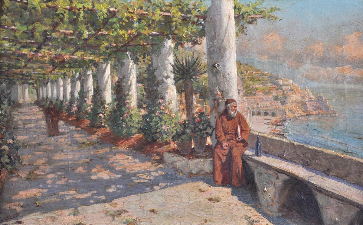 ITALIAN SCHOOL (19th Century) A PAINTING,