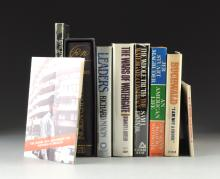 A COLLECTION OF EIGHT BOOKS AND A BOOKLET, NIXON AND THE WATERGATE CONSPIRACY,