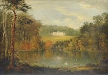 BRITISH SCHOOL (18th Century) A PAINTING,